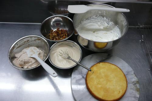 モンブラン風ケーキ①