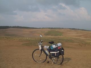 2005年のツーリングより鳥取砂丘