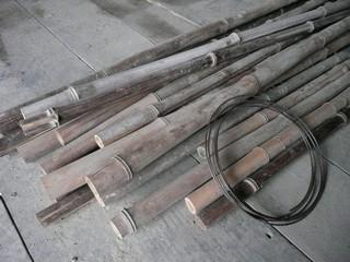 竹垣 材料