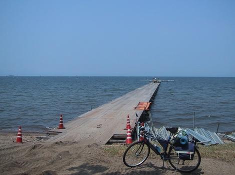 2004年のツーリングより琵琶湖