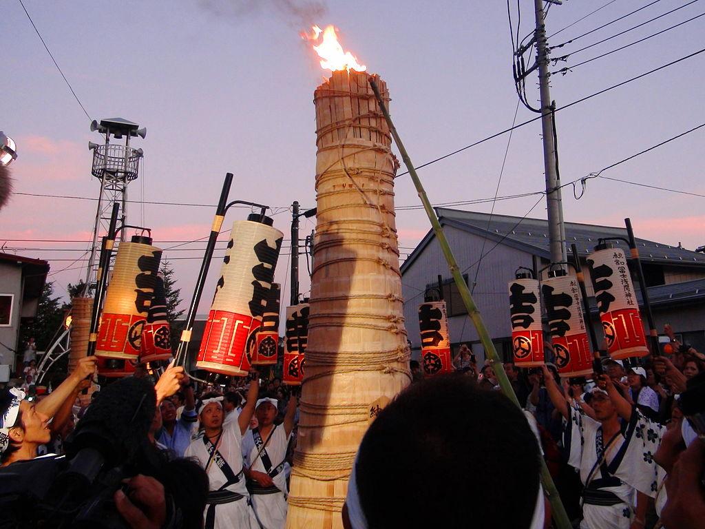 吉田の火祭り(鎮火祭)