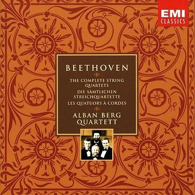 ウイーンアルバン・ベルク四重奏団のベートーベン弦楽四重奏曲全集