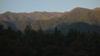 紅葉の大峠