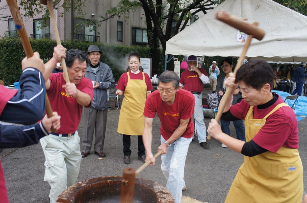 2011-11-06親子餅つき大会