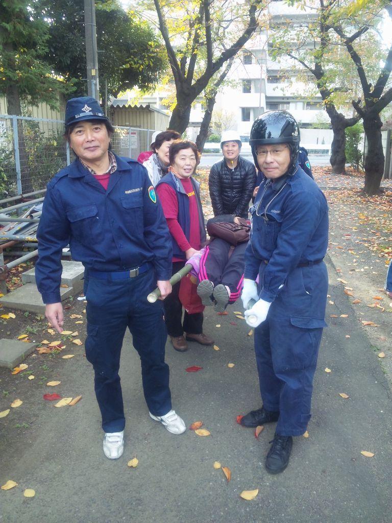 2011-11-27(日)小豆沢北町会防災訓練1