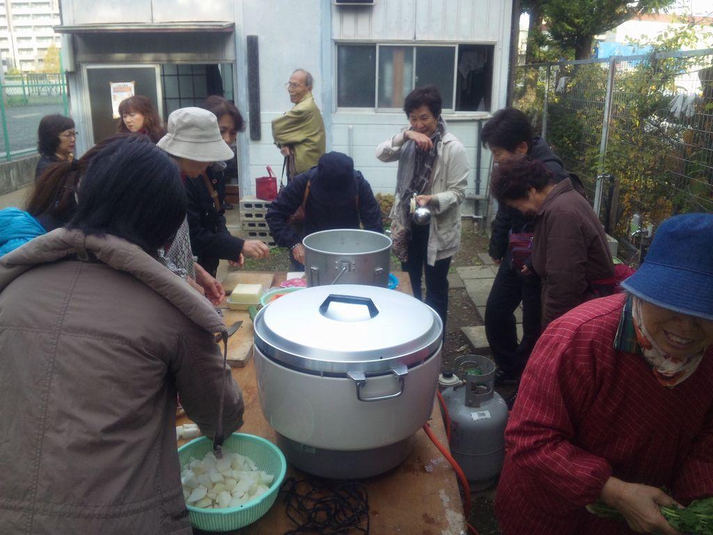 2011-11-27(日)小豆沢北町会防災訓練2