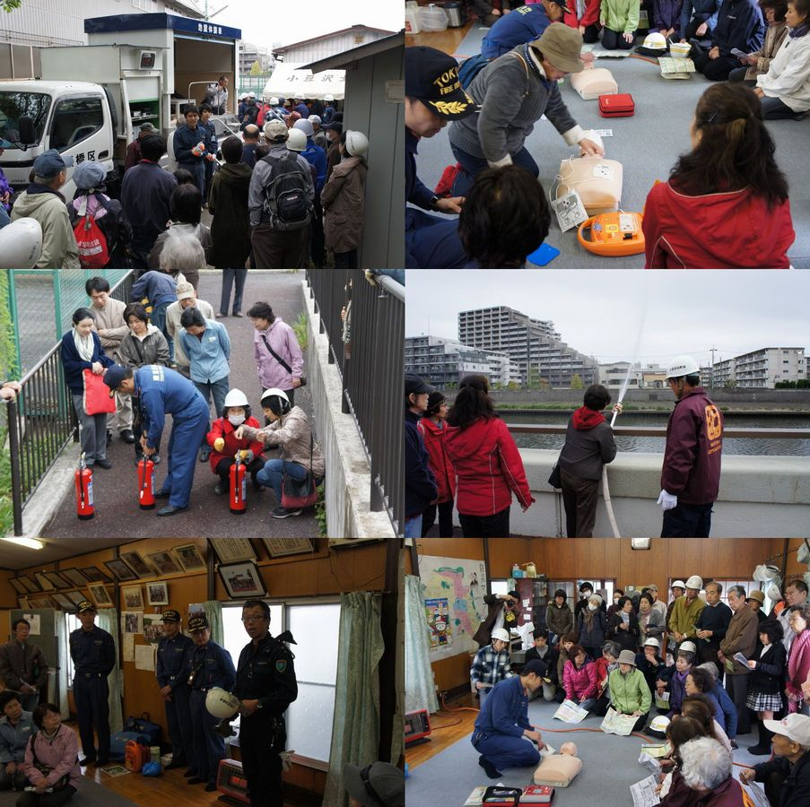 2012-04-22小豆沢北町会防災訓練