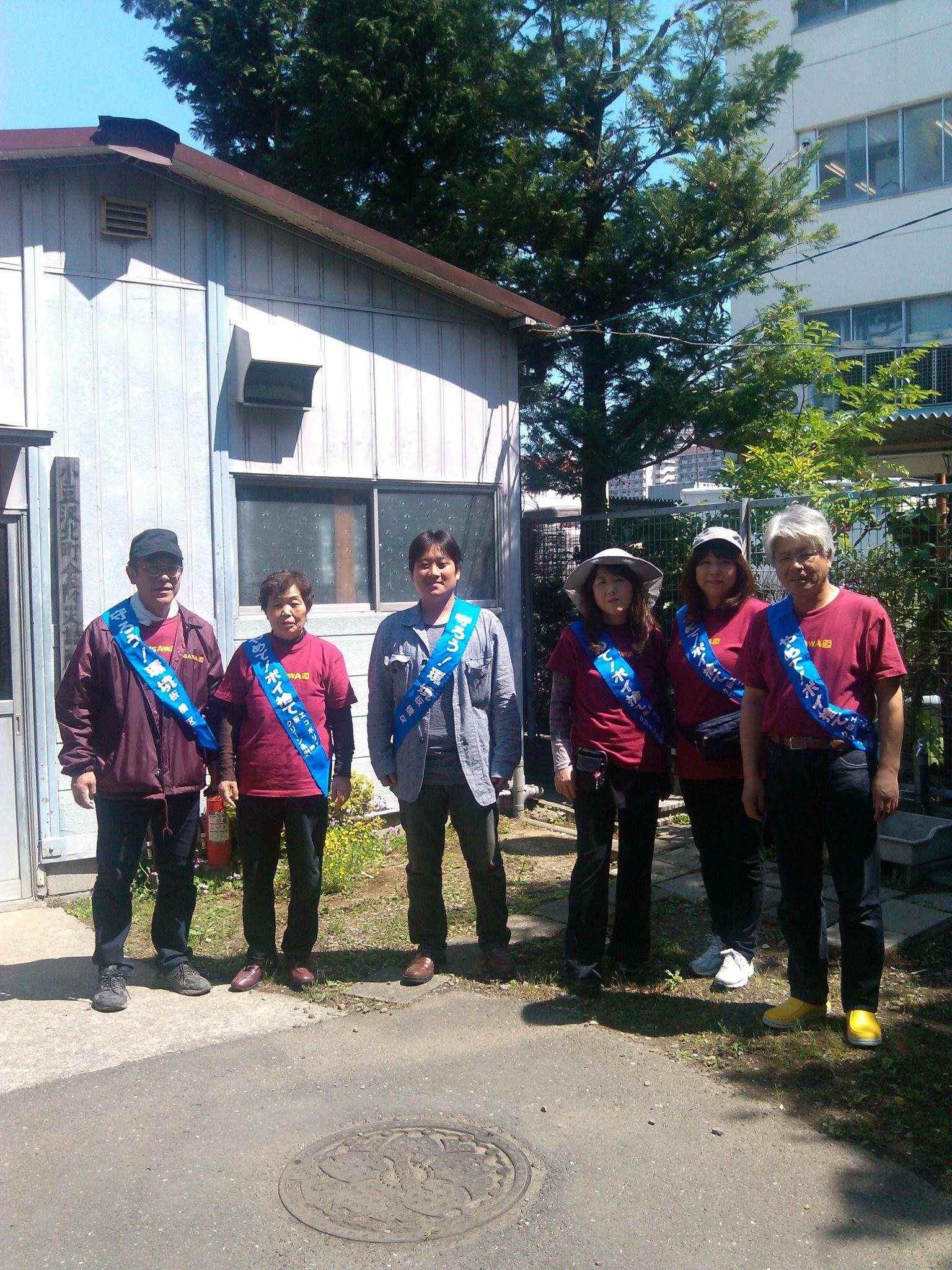 2012-05-19(土)ポイ捨てゼロ運動