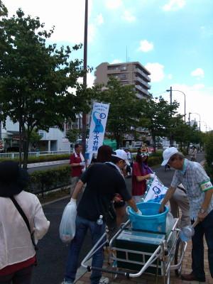 2012-08-05町内クリーン活動&打ち水