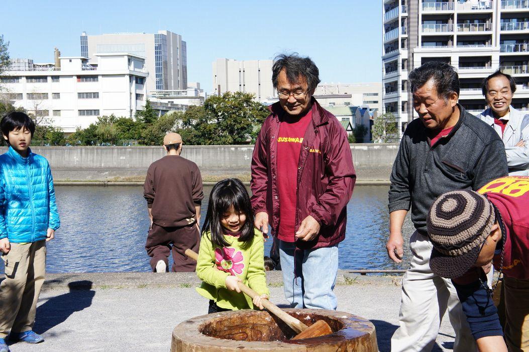 2012-11-04親子餅つき大会