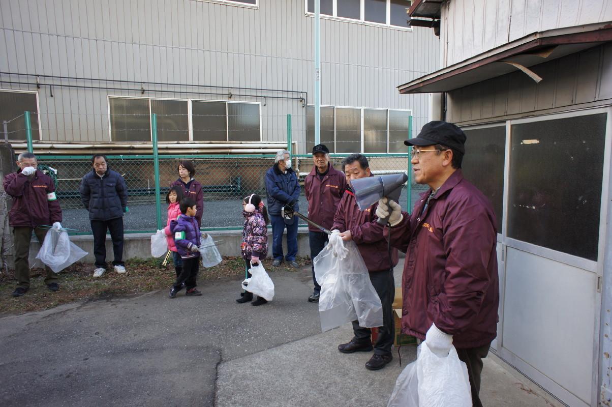 2013年1月6日月例クリーン活動