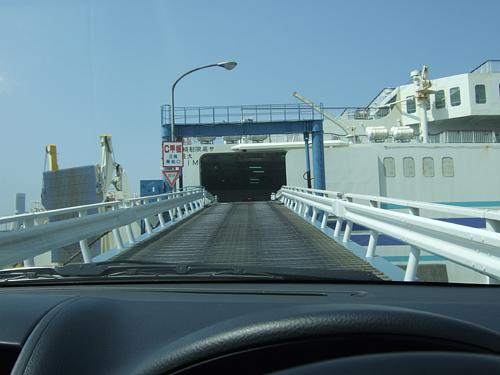新潟港 ゆうかり 乗船