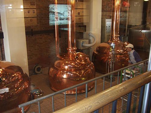 サッポロファクトリー レンガ館 ビール工場