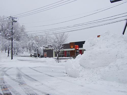 札幌 ドカ雪