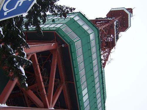 年末 札幌テレビ塔
