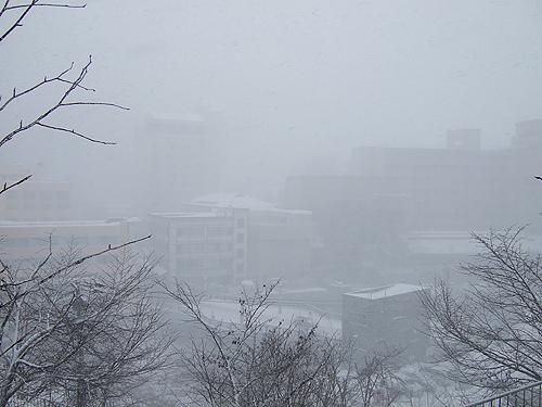 定山渓温泉 山渓園 吹雪