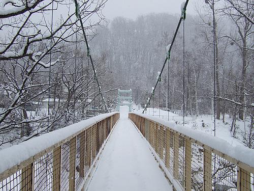冬に逆戻り 札幌 十五島公園