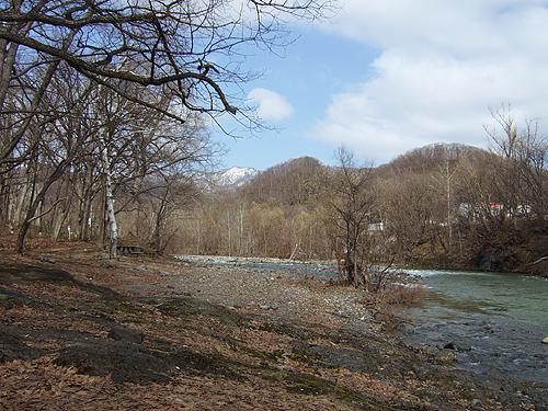 十五島公園 河原 風景