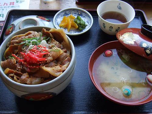 黄金の肉丼 岡田屋