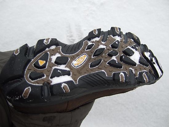 アンカレッジブーツ 靴底