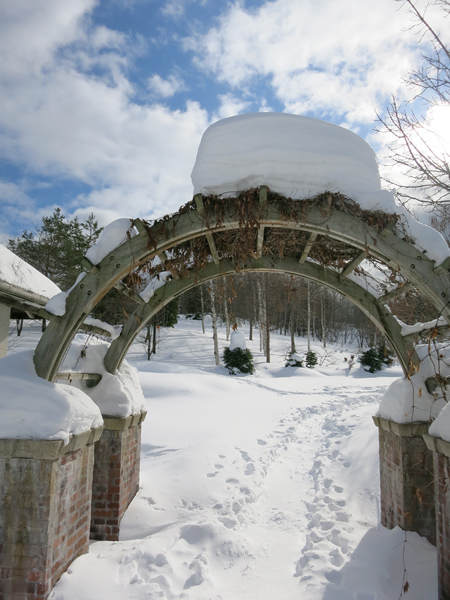 滝野スノーワールド 庭園