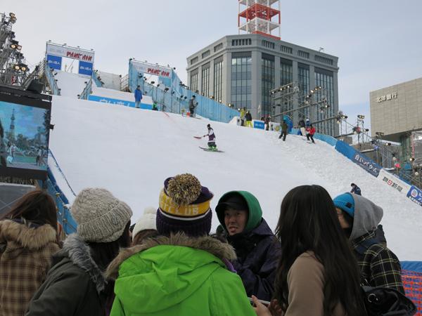 第64回さっぽろ雪まつり 2013 ジャンプ台