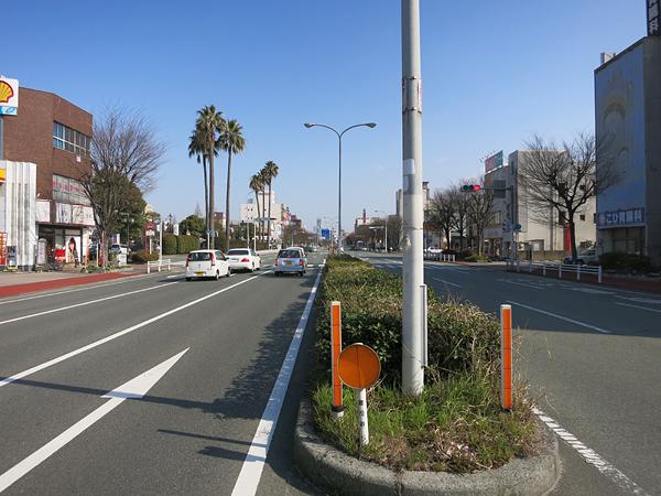 2013 九州行き 大牟田駅 国道208
