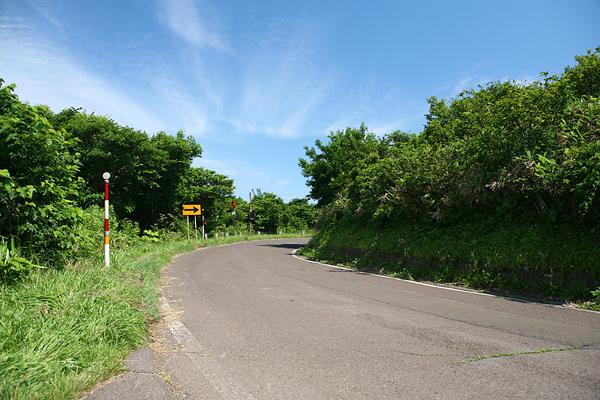 チキウ岬 続く道