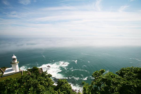 チキウ岬 地球岬 灯台
