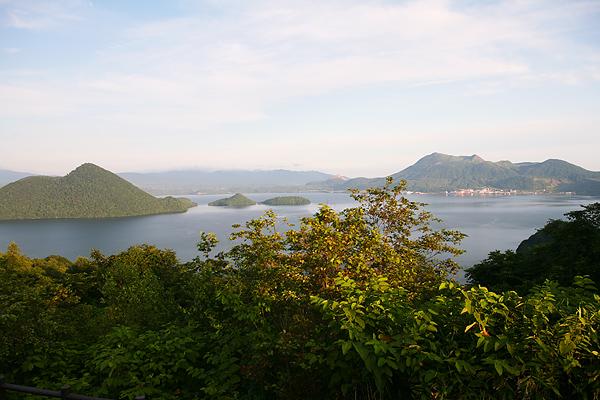 爺湖 風景 サイロ展望台