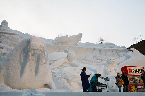 第63回さっぽろ雪まつり 雪の水族館~海からの贈り物~