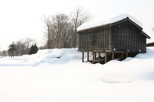 北海道開拓の村 旧土屋家はねだし