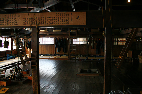 北海道開拓の村 旧青山家漁家住宅 内部