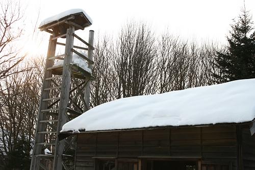 北海道開拓の村 旧山本消防組番所