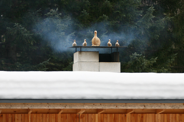 MEON農園  ロングパリッシュ 煙突のオブジェ