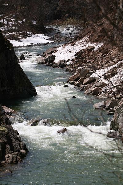 定山渓 かっぱ淵