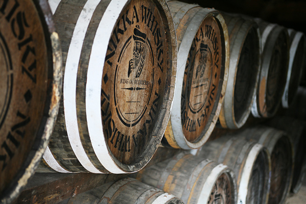 ウイスキー博物館 樽