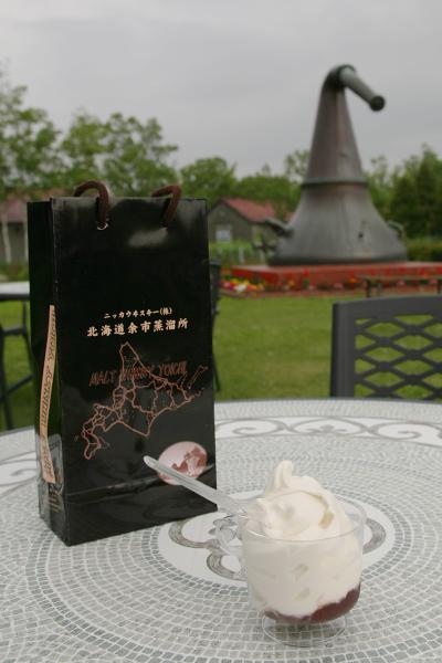 白玉ぜんざい ソフトクリーム
