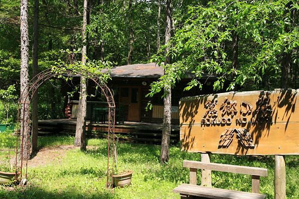 北の国から 麓郷の森 入口