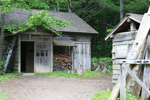 五郎の石の家 最初の家