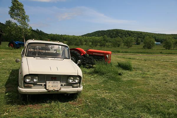 五郎の石の家 五郎の車