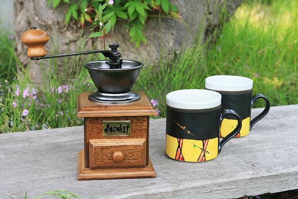 森の時計 オリジナルミル 彩文 マグカップ