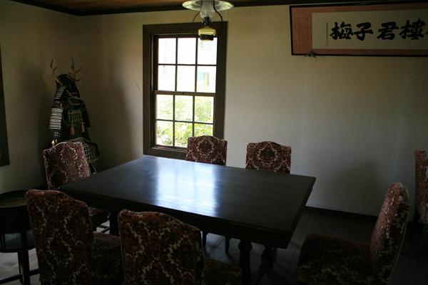 伊達邸別館 一階 来客控室