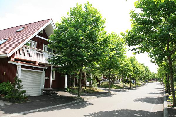 スウェーデンヒルズ 街並み