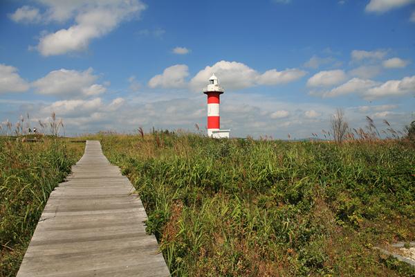 はまなすの丘公園 石狩灯台