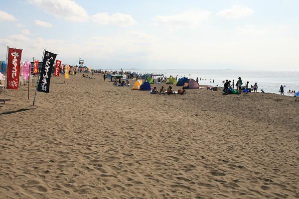 石狩浜海水浴場(あそびーち石狩)