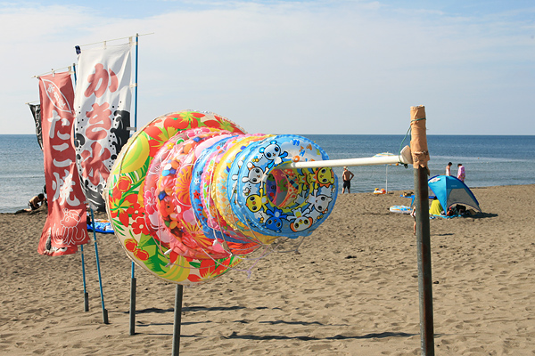 石狩浜海水浴場(あそびーち石狩) うきわ 浜