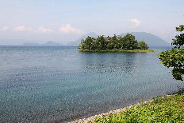 洞爺湖 珍小島