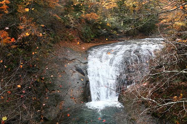 恵庭渓谷 白扇の滝
