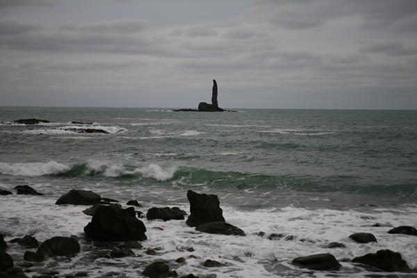 積丹半島 美国 ローソク岩